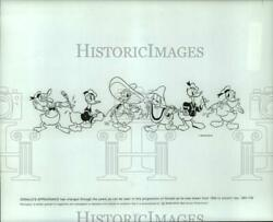 1984 Press Photo Progression Of Donald Duckand039s Appearance Through The Years