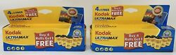 Kodak Ultramax 400 Speed 24 Exp. 35mm Color Film 10 Pack Rolls - Expired