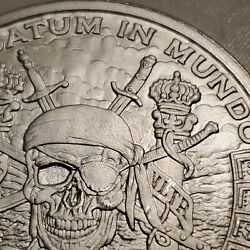 Pirate Silver Pieces Of Eight 8 Silver Shield 1 Troy Oz Minty 999 Fine