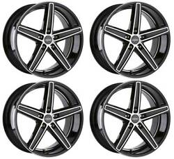 4 Alloy Wheels Oxigin 18 Concave 8.5x18 Et35 5x100 Swfp For Rover 75