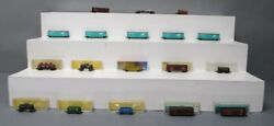 Atlas Bachmann Industial N Scale Assorted Freight Cars [18]/box