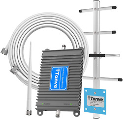 Cell Phone Signal Booster For Att T-mobile 700mhz 4g Lte Band 12/17 Mobile Sign