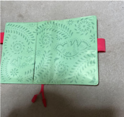 HOBONICHI TECHO Papel Picado COVER Only A6 Size Rare 2010 Limited Edition $37.00