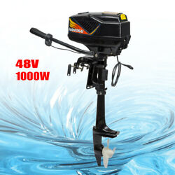 Heavy Duty 48v 1000w Outboard Motor Fishing Boat Engine Boat Parts 3000rpm