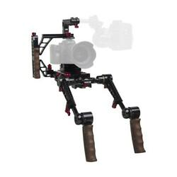 Zacuto Indie Recoil Rig With Dual Trigger Grips For Mirrorless And Dslr Cameras