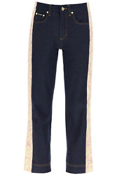 New Dolce And Gabbana Jeans With Brocade Bands Ftb1ft Gdx71 Variante Abbinata Auth