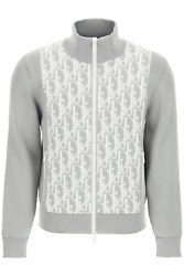 New Dior Dior Oblique Sports Jacket 113m421at195 Grey Authentic Nwt