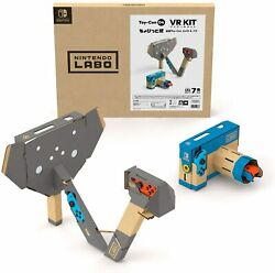 Nintendo Labo Toy Con 04 Vr Kit Little Edition Camera And Elephant Switch Japan
