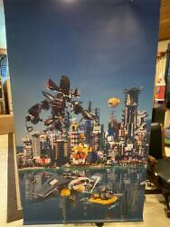 Rare Huge Lego Toys R Us Store Display Banner 84 X 48 2