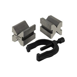 Moore And Wright 231 Precision Grade Steel Vee Blocks And Clamps 231 Workshop