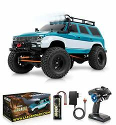 110 Scale Large Rc Rock Crawler - 4wd Off Road Rc Cars - Remote Blue - Green