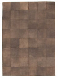 Handmade Cowhide Rug 5and0396 X 7and0397 Genuine Cow Skin Leather Carpet