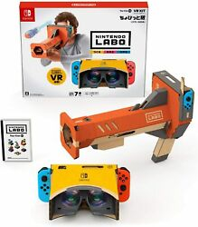 Nintendo Labo Toy Con 04 Vr Kit Little Edition Toy Con Bazooka Switch