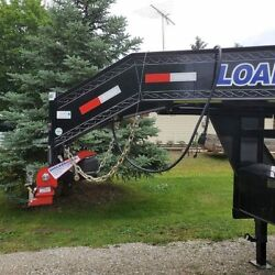 Load Trail Trailers Shocker Surge Gooseneck Air Hitch And Coupler Round 3-15/16