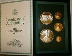 1993 American Eagle Phila. Gold And Silver Coins Rare, Proof Set