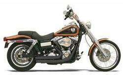 Bassani Xhaust Firesweep Turn Out Exhaust System Black Harley Davidson Dyna
