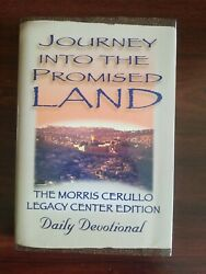 Journey Into The Promised Land Devotional Morris Cerullo Legacy Center 2015 Book