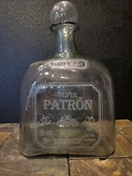 Largest Patron Tequila Bottle Ever Made Limited Edition W/orig Box Rare 15l