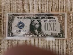 1928 B 1 Dollar Silver Certificate Funnyback Note Paper Money Choice/unc