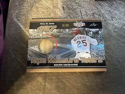 2021 Leaf Lumber 487' Tape Measure Taters Mark Mcgwire Relic /20