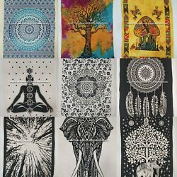 Assorted Indian Mandala Poster Hippie Mix Lot Traditional Handmade Wall Hanging