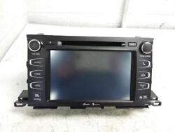 Radio Display And Receiver Fits 14-15 Highlander 810124 Id 861000e260 P 57064