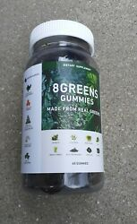 8 Greens Gummies Made From Real Greens/ 60 Gummies /free Shipping