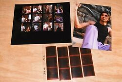 Agfa Negatives And Contact Sheet And Print. Male Models Shot By Marc Burgess Photo