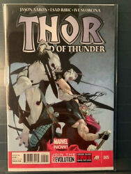 Thor God Of Thunder 5 Nm 9.4 Gorr Origin Big Movie Spec Book