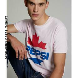 Aid Limited Edition Dsquared2 Pepsi T-shirt Pink