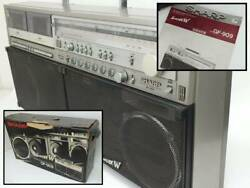 Sharp Gf-909 Stereo Boombox Searcher W With Box
