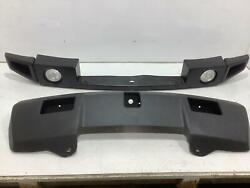 03-09 Hummer H2 Reconditioned Front Bumper Powder Coated Lower / Ceramic Upper