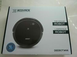 Ecovacs Deebot 500 Robot Vacuum Cleaner In Black Read Notes