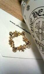 Chrome Hearts Tiny Ch Plus Ring 22k With Gala Frames