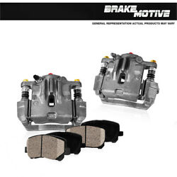Rear Brake Calipers And Ceramic Pads For 1991 1992 1993 Chrysler Imperial