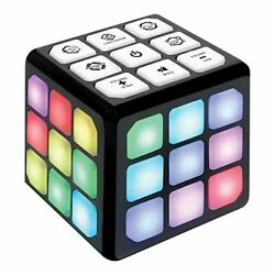 Flashing Cube Electronic Memory Brain Game 4in1 Handheld Ages 6-12 Years Old New