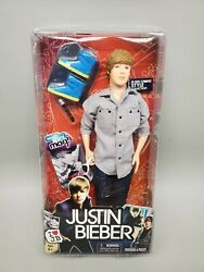 2010 Justin Bieber Res Carpet Style Doll - Action Figure New Nrfb Sealed