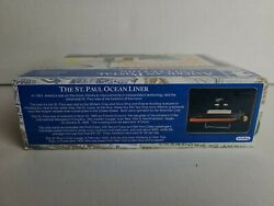 New American Postal Collection Commemorative Tin Toy St Paul Ocean Liner 2008