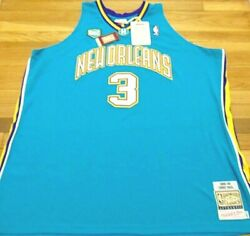 Mitchell And Ness Nba New Orleans Hornets Chris Paul 2004-05 Authentic Jersey 64