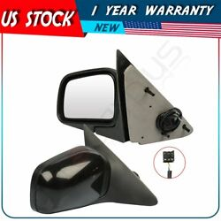 L+r Mirrors Fo1321130 For 1997 Ford Crown Victoria Power Manually Fold Primed