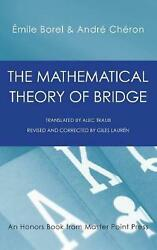 The Mathematical Theory Of Bridge 134 Probability Tables Their Uses Simple Fo