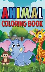Animal Coloring Book By Alan Fiverr English Hardcover Book Free Shipping