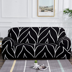 Elastic Sofa Slipcovers For Sectional Corner L-shape Chair Protector Couch Cover
