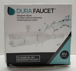 Dura Faucet Classical Shower Faucet Df-sa100c-wt - White - Rv Specialists - New