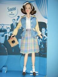 Barbie Loves Frank Sinatra Doll Fashion With Mini Album And Doll Stand