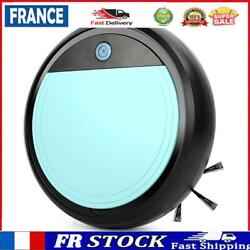 Smart Strong Suction Vacuum Cleaner Sweeper Usb Cleaning Robot Light Blue