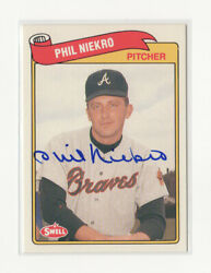 You Pick - Atlanta Braves Related Signed Autograph Auto Vintage Star Hof 511