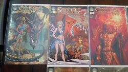 Soulfire Dying Of The Light 0-5, Michael Turner Cover Comic Lot