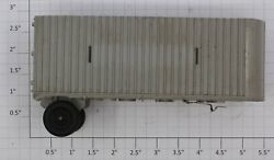 Lionel 3460-100x Gray Trailer Van With Namplate Slots Damaged