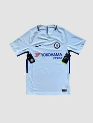 Bnwt Chelsea Football 2017 2018 Away Player Issue Aeroswift Shirt Jersey Size S